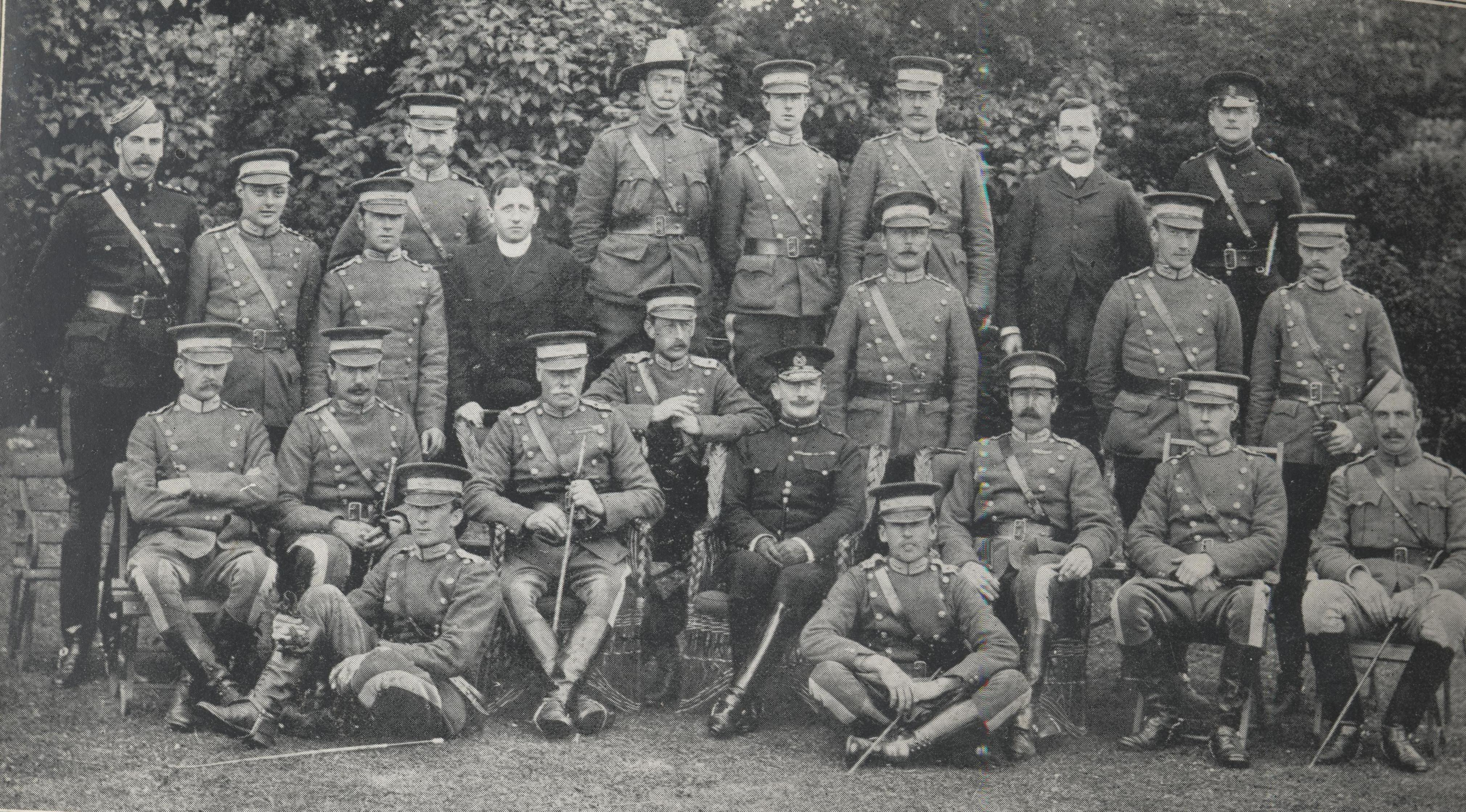 Officers in 1903